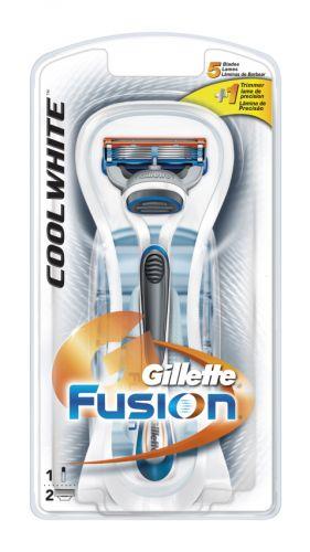 Gillette Fusion Cool White cena od 0,00 €