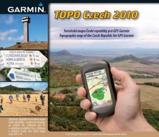 Garmin mapy Topo Czech 2010