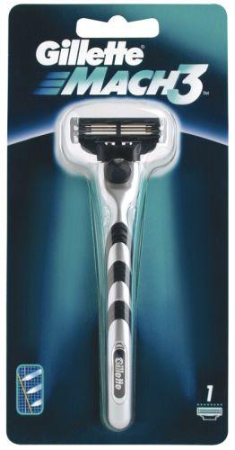 Gillette Mach3 strojek + 1 náhradní hlavice cena od 0,00 €