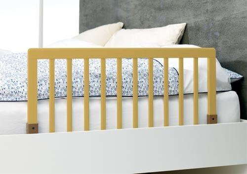 BabyDan zábrana k posteli dřevěná