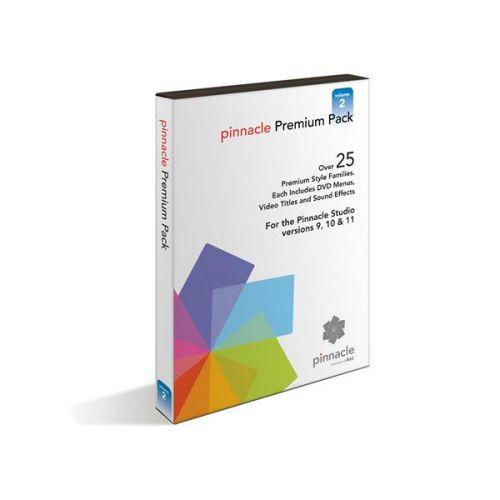 Pinnacle STUDIO PREMIUM PACK Vol.2 pro 10/11/12/14