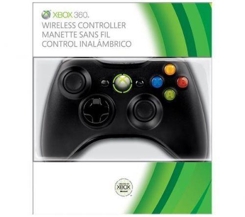 Microsoft Gamepad Xbox 360 Wireless Controller černý