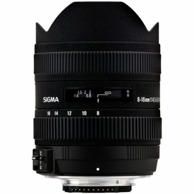 SIGMA 8-16 / 4.5-5.6 DC HSM Nikon