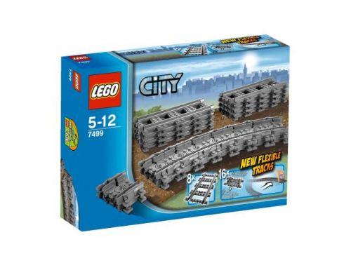 LEGO CITY Police 7499 Ohebné koleje