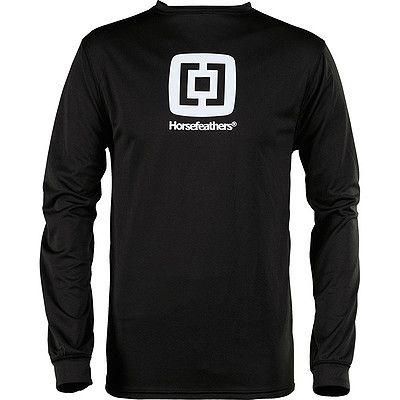 Horsefeathers Gordon shirt černé
