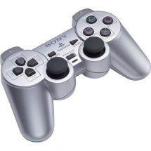 Sony PS Dual Shock2 pro PS2 stříbrná (PS719614845)