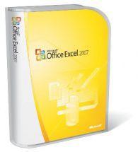 Microsoft MS Excel 2007 Win32 Slovak CD
