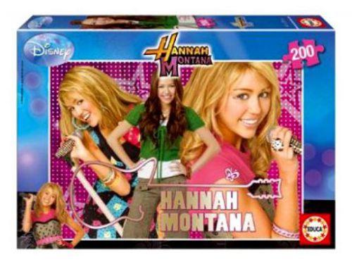 EDUCA Puzzle Hannah Montana, 200 dílků