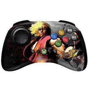 MAD CATZ Xbox 360 Licensed Street Fighter IV Gamepad charakter: Ken