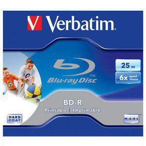 Verbatim BD-R Printable 25GB 6x, 1ks v krabičce