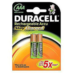 Duracell Stay Charged 800 AAA 2ks