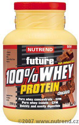 Nutrend 100% Whey Protein Jahoda 2250 g