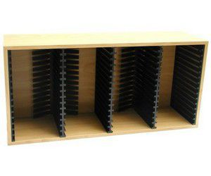 GIGAMASTER stojan na 60 CD - světle hnědé dřevo cena od 0,00 €