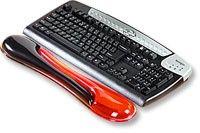 KENSINGTON gelová předložka před klávesnici, červeno-černá
