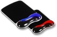 KENSINGTON podložka pod myš, červeno-černá