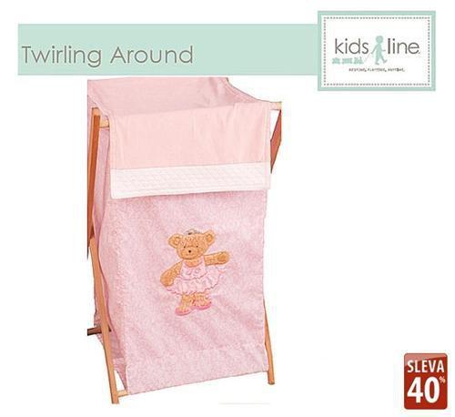 Kidsline Koš na prádlo TWIRLING AROUND