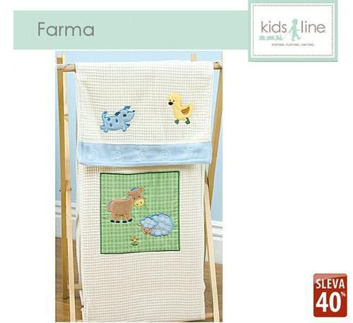Kidsline Koš na prádlo FARMA