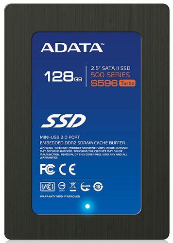 A-DATA S596 Turbo 128GB SSD cena od 0,00 €
