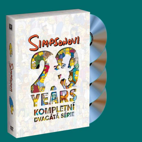 20th Century Fox Simpsonovi - 20.sezona cena od 0,00 €