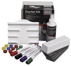 2x3 Starter kit k flipchartům a magnetickým tabulím cena od 0,00 €