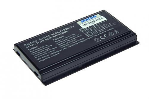 Avacom Baterie Asus F5 series A32-F5 Li-ion 11,1V 5600mAh cena od 0,00 €