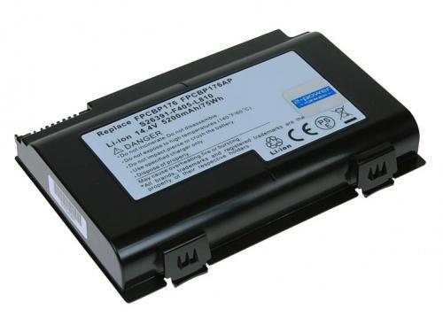 Avacom Baterie Fujitsu Siemens LifeBook E8410 Li-ion 14,8V 5200mAh cena od 0,00 €