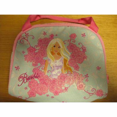 Alltoys CZ Kabelka Barbie s květinami modro/růžová