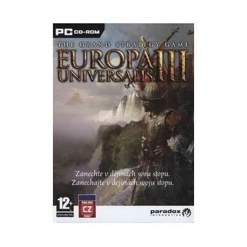 PARADOX Europa Universalis III pro PC