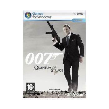 ACTIVISION James Bond: Quantum of Solace, , hra pro PC, akční