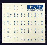 OEM Polepky na klávesnici - Modré cena od 0,00 €
