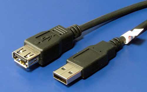 OEM výrobce USB 2.0 kabel prodlužovací A-AF 0,5m cena od 1,45 €