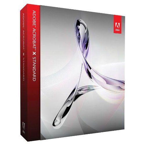 Adobe Acrobat X Standard CZ WIN UPG (z verzí 7, 8, 9 Std)