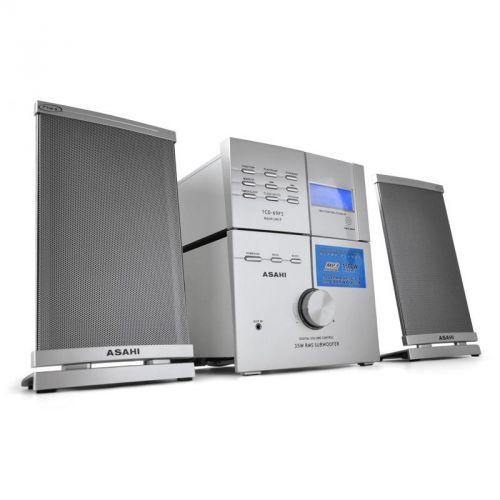 Asahi 1CD-69FS mikrosystém 2.1, MP3/CD přehrávač, AUX, rádio