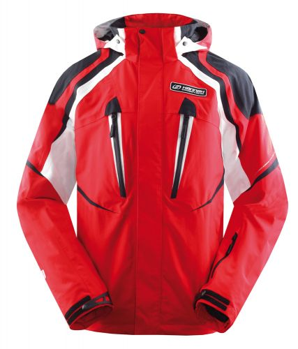 Hannah Higher Fiery red/anthracite XL