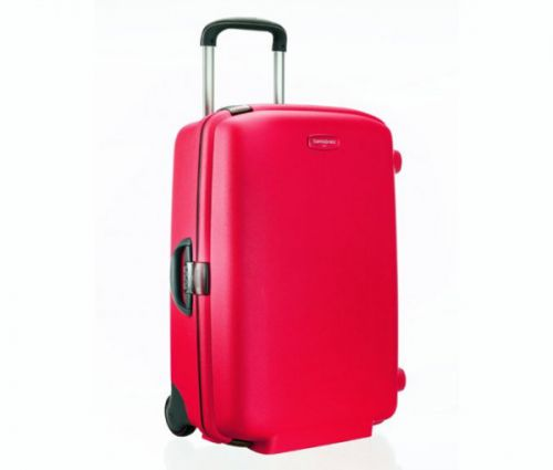 SAMSONITE F´Lite Young Upright 79 cm, červená
