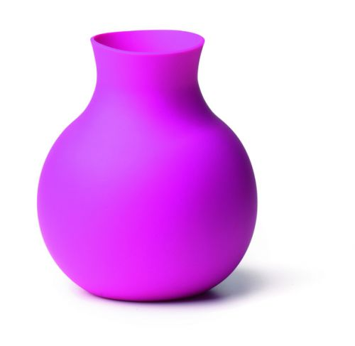 Menu Gumová váza - ružová
