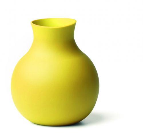Menu Gumová váza - žltá
