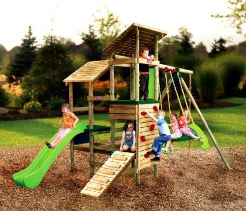 Little Tikes Dřevěné dětské hřiště Windsor