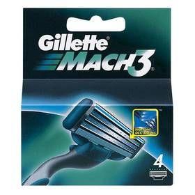 Gillette Mach3 náhradní hlavice 4 ks cena od 0,00 €