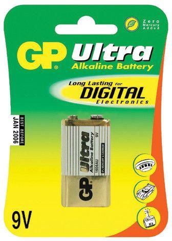 GP 9V Ultra alkalická - 1 ks