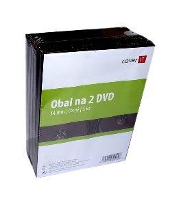 Cover IT box na 2 DVD - balení po 5ks