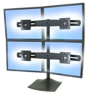 Ergotron DS100 Quad Monitor