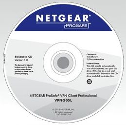 NETGEAR VPN CLIENT Software, 5 licences, VPNG05L