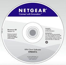 NETGEAR VPN CLIENT Software, 1 licence, VPNG01L