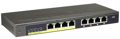 NETGEAR 8xGIGABIT PLUS switch with PoE, GS108PE