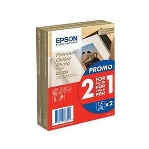 EPSON Prem. Glossy Photo Paper 255g A6 2x40 listů PROMO