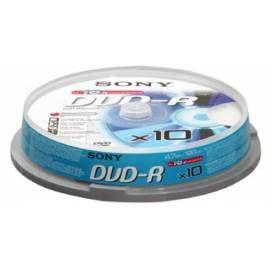 SONY DVD-R 10ks cakebox
