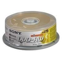 SONY 25DMW47ASP, 4.7 GB 2x SPINDLE