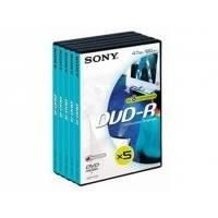 SONY DVD-R 5ks v DVD krabičce