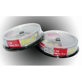 Disk DVD+R Imation 4,7GB 16x, 10-cake